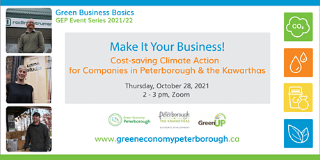 Cost-saving Climate Action for Companies in Peterborough and the Kawarthas tickets