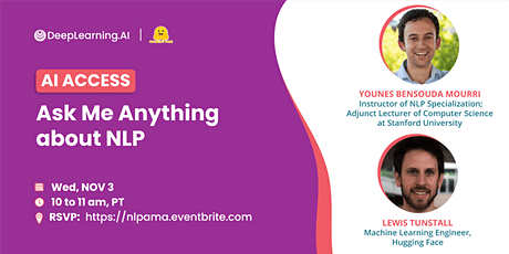 Ask Me Anything about NLP tickets