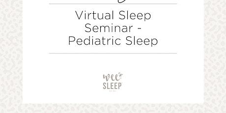 Baby and Toddler Sleep Seminar tickets