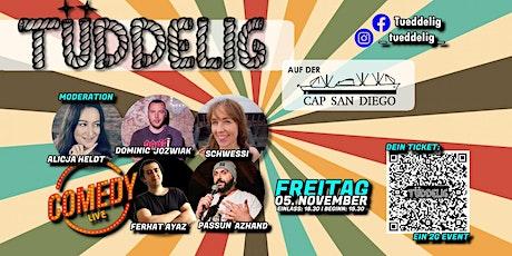 """""""Tüddelig auf der Cap San Diego"""" - 120 Minuten Comedy-Mix-Show Tickets"""