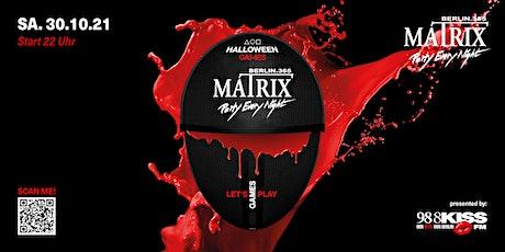 Matrix HALLOWEEN GAMES on 5 Dancefloors! tickets