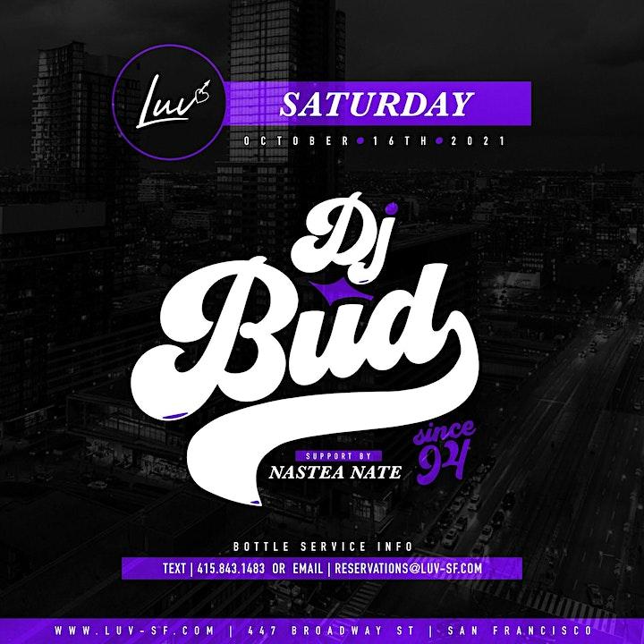 LUV Saturdays With DJ Bud image