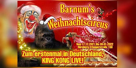 Barnums Weihnachtscircus tickets