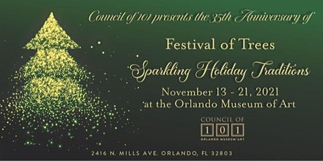 Festival of Trees - Sparkling Holiday Traditions tickets