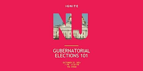 NJ Gubernatorial Election 101 tickets