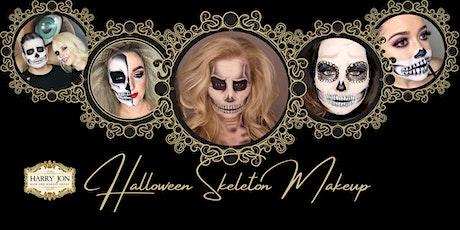 Halloween Makeup Workshop | Skeleton tickets
