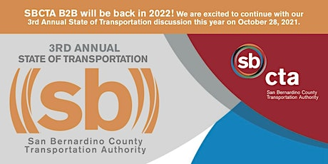 SBCTA  - 3rd Annual State of Transportation tickets
