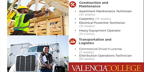 Valencia College - Construction and CDL Tours (Kissimmee) tickets