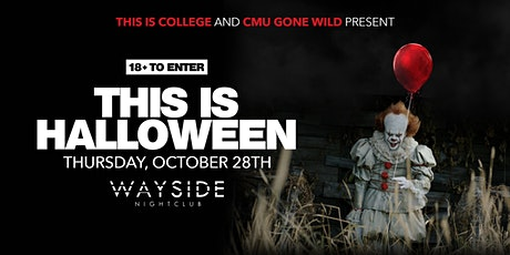 THIS IS HALLOWEEN**OCT 28th** tickets