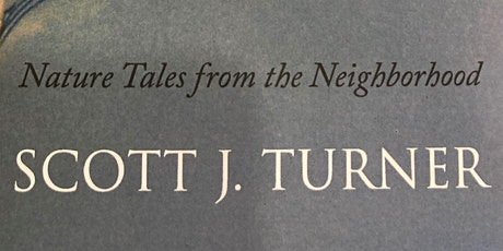 """""""Beauty in the Street"""": a virtual reading by local author Scott Turner tickets"""