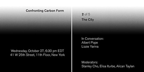 Confronting Carbon Form: The City tickets