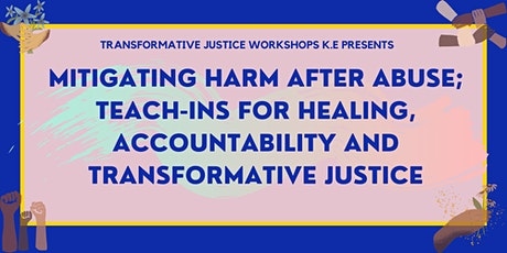 Mitigating Harm After Abuse Session 04: Community Building: Brave Spaces tickets
