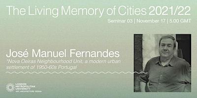 José Manuel Fernandes: Nova Oeiras Neighbourhood Unit
