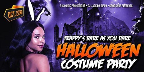 Trappy's Bare as you dare Halloween Costume Party tickets