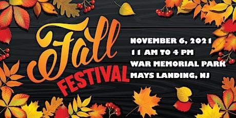 Mays Landing's 2021 Fall Festival - Vendor Registration tickets