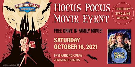 Winston Plaza Drive in Family Movie - Hocus Pocus tickets