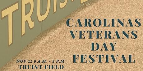 Carolina's Veterans Day Festival tickets