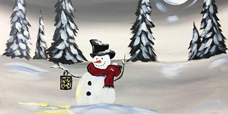 Paint Night in Rockland - Moonlight Snowman at G.A.B.'s tickets