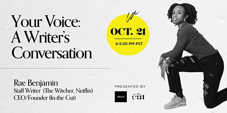 Your Voice: A Writer's Conversation tickets