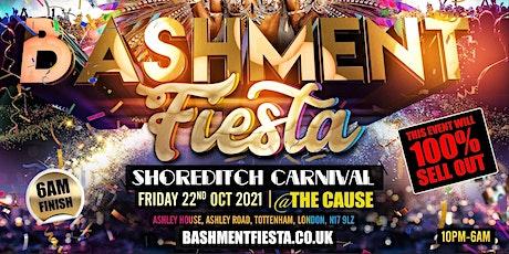 Bashment Fiesta - Shoreditch Carnival Party tickets