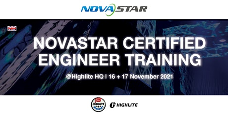 Novastar Certified Engineer Training @ Highlite HQ billets