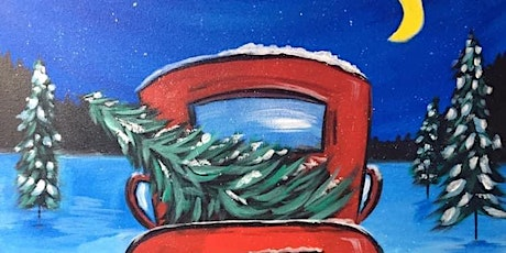 Paint Night in Rockland - The red truck at G.A.B.'s tickets