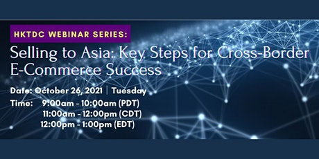 Selling to Asia: Key Steps for Cross-Border E-Commerce Success tickets