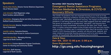 Emergency Rental Assistance , Eviction Mediation, & COVID Recovery tickets