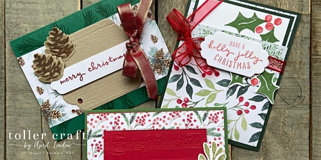 Holly Jolly Holiday Market Craft Workshop: Cardmaking with Tollercraft tickets