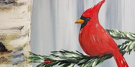 Paint Night in Rockland - Birch and Cardinal at G.A.B.'s tickets