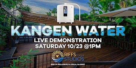 Kangen Water Live Demonstration & Sound Healing In La Jolla tickets