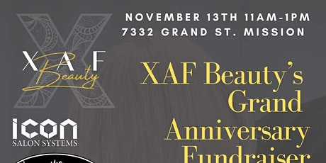 XAF Beauty Grand Anniversary tickets