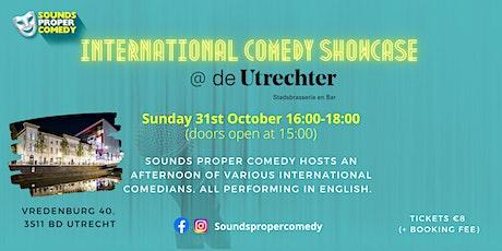 International Comedy Showcase tickets