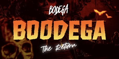 Halloween  Party at Bodega! tickets