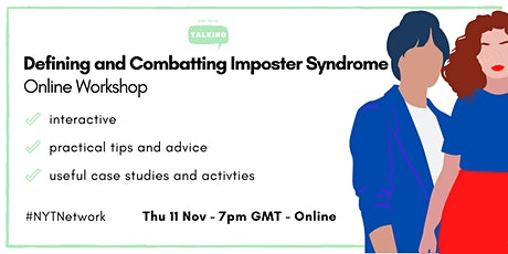 Defining and Combatting Imposter Syndrome  - Online Workshop tickets