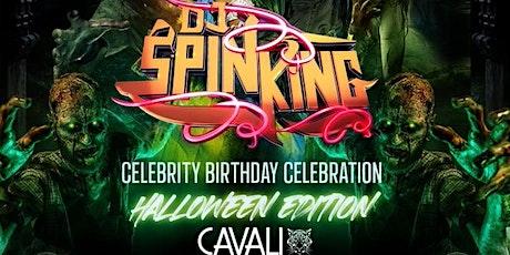 DJ SPINKING Celebrity Birthday Celebration : Halloween Edition tickets