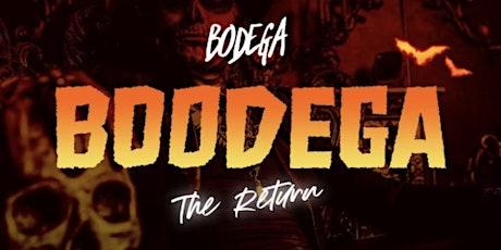 Halloween  Party at Bodega!  Saturday tickets