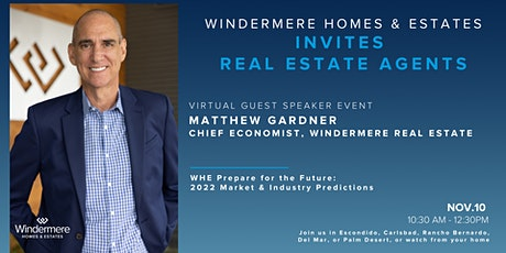 WHE Prepare for the Future: With Windermere Real Estate's Matthew Gardner tickets