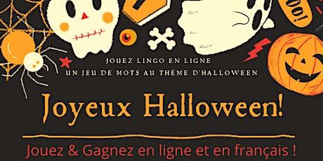 Jeu Lingo en ligne - Edition Halloween entradas