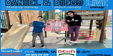 Daniel & Diego LIVE DiCicco's Old Town Clovis tickets