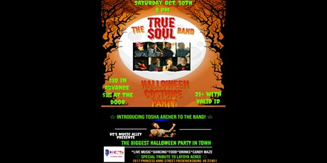 True Soul Halloween Costume Party tickets