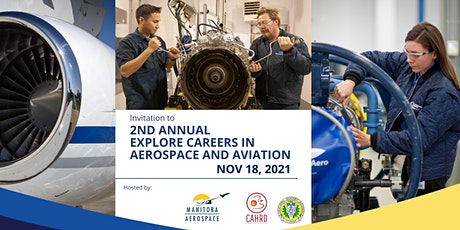 """2nd Annual """"Explore Careers in Aerospace and Aviation"""" in Manitoba tickets"""