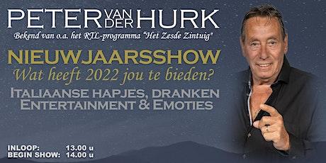 Nieuwjaarsshow Peter van der Hurk tickets