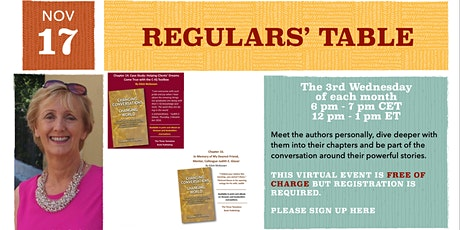 Regulars' Table 10: Eilish McKeown on Changing Conversations billets