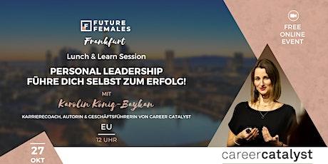Personal Leadership - Führe dich selbst zum Erfolg I FF Frankfurt Tickets