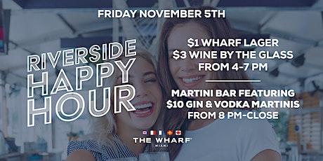 The Wharf Miami's Riverside Happy Hour tickets
