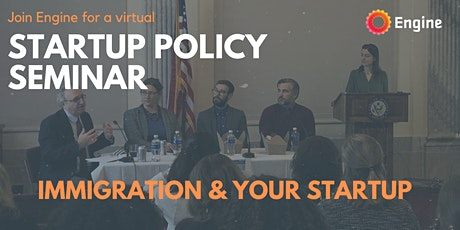 Startup Seminar: Immigration and Your Startup tickets