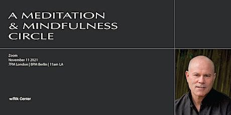 A Meditation & Mindfulness Circle tickets