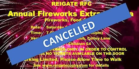 Reigate RFC Fireworks 2021 *** CANCELLED *** tickets