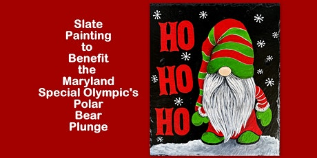 Paint on Slate to Support  the Maryland  Special Olympics Polar Bear Plunge tickets